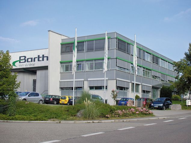 Hauptsitz Barth in Renningen